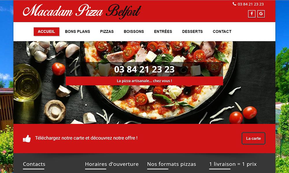 Macadam Pizza Belfort